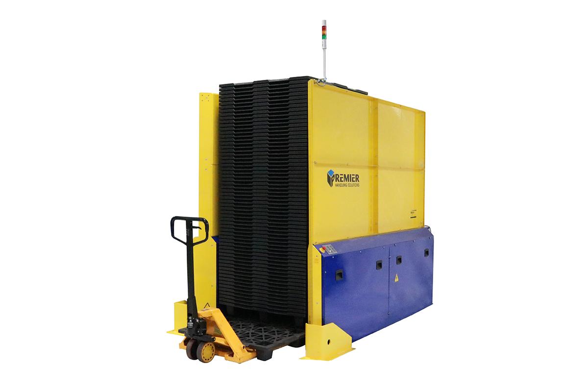 Double Deep Pallet Dispenser Forklift Load