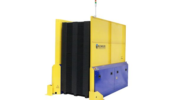 Double Deep Pallet Dispenser Plastic Block Pallets