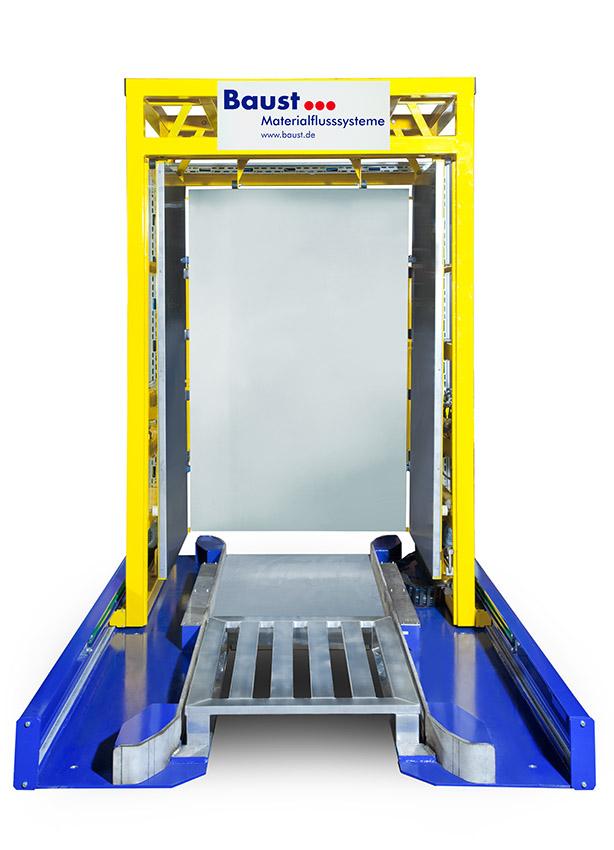 Premier PW 1000 Push Method Pallet Changer