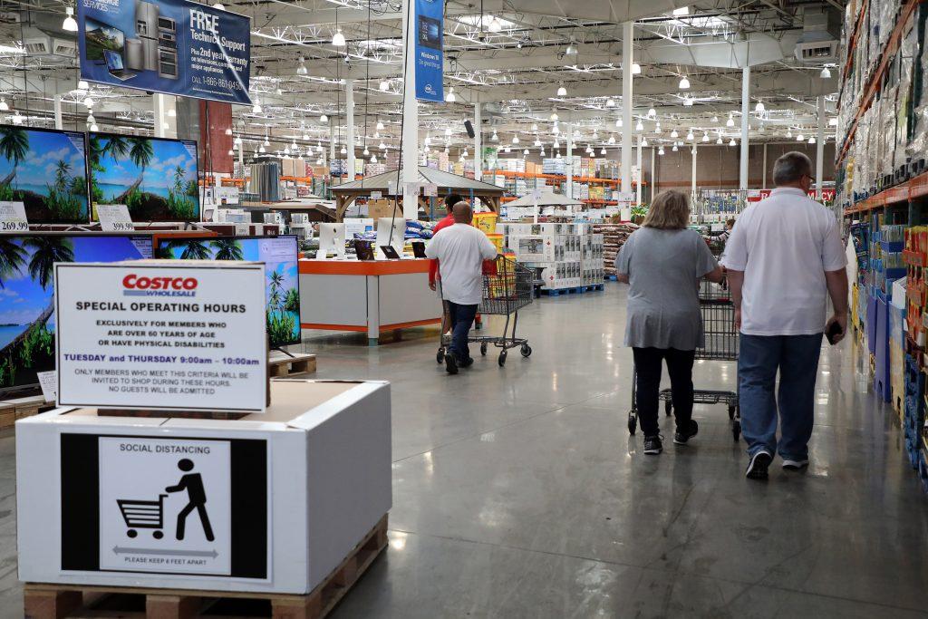 Walmart Senior Shopping