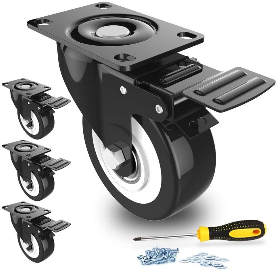 """2"""" Swivel Caster Wheels 1"""